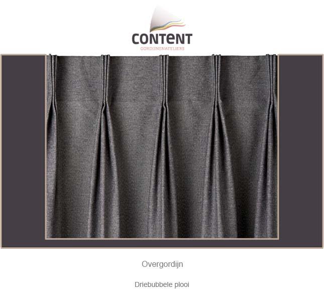 overgordijnen soorten plooien] - 100 images - gordijnen dubbele ...