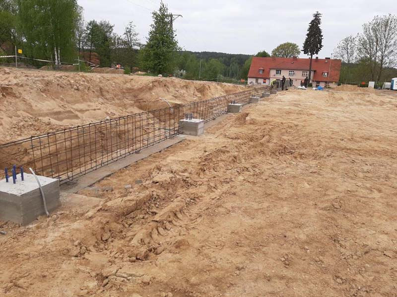 Nieuwbouw productie capaciteit in Polen
